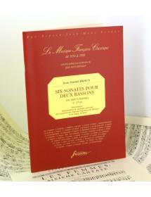 Braun J.D. Six sonatas for...