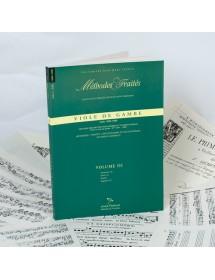 Viola da gamba - Vol 3...