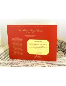 Campra A. French cantatas...