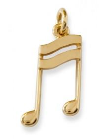 Jewelry semiquaver note...