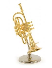 Miniature trumpet : music...