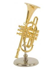 Miniature post horn : music...