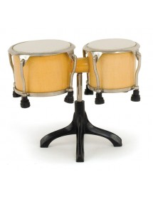 Miniature bongo drums :...