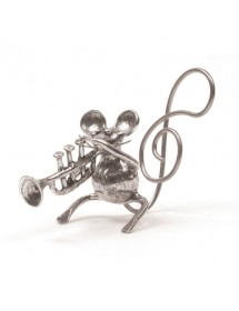 Trumpet mouse pewter 95,5%...