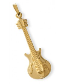 Bijou pendentif guitare...