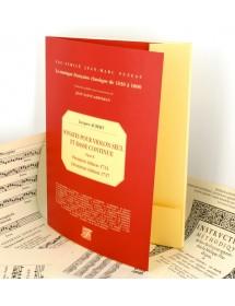 Aubert J. Sonates à violon seul et basse continüe - Livre II