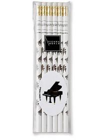 Pencils with eraser - Piano...
