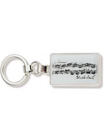 Key ring Bach music black...