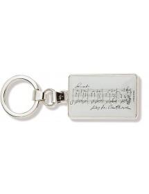 Key ring Beethoven music...