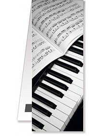 Magnetic Bookmarks - Piano...