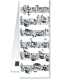 Magnetic Bookmarks - White...