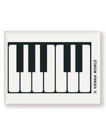 Gomme clavier - noire et...