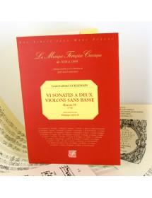 Guillemain L.G. VI Sonates...
