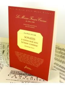 Leclair J.M. Third book of...