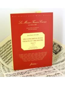 Leclair J.M. Six concertos...