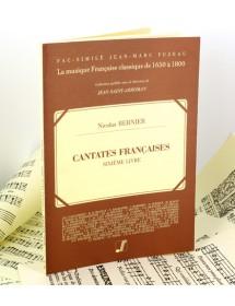 Bernier N. French cantatas...