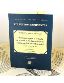 Mozart W.A. Trois sonates...