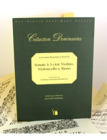Platti G.B. Sonate a 3 pour...