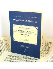 Schobert J. Sonatas in four...
