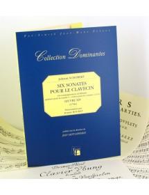 Schobert J. Six sonatas for...