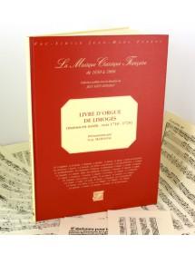 Anonyme Livre d'orgue de Limoges